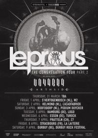 leprous tourplakat