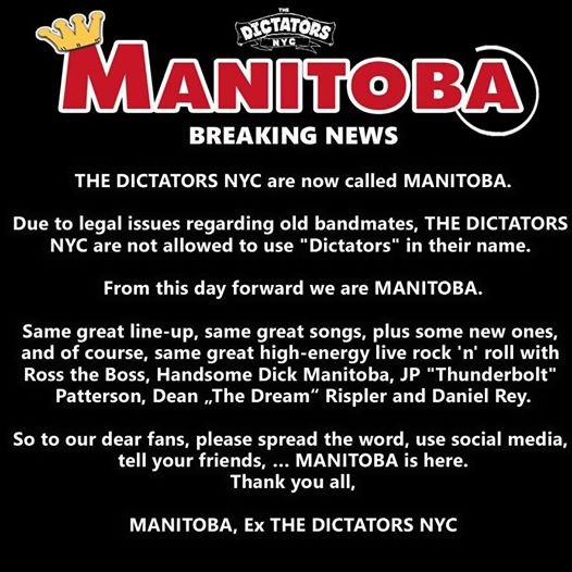 Manitoba Announcement